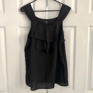 Black Mossimo silk camisole